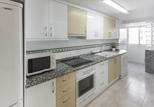 Apartamento en Playa de Gandía - 31. AG AIGUABLAVA 4-3